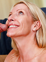 Hot milf Emma Starr loves young cock