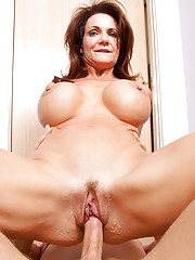 Busty milf Deauxma gets what she wants from this young stud