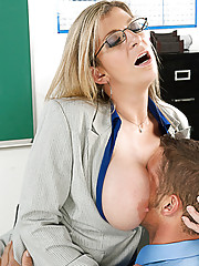Sara Jay shows her student what it