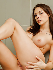 Chanel Preston fucks and sucks her husbands huge cock.