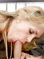 Tanya Tate loves sucking her son\