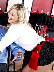 "Alexis Texas is a naughty waitress that offers will powers ""the special"", the special pussy that is."