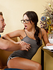 Hot Asian Asa Akira sucks and fucks one guys cock in his dreams