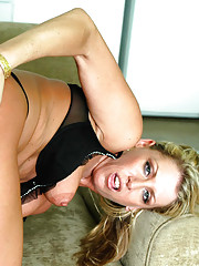 Blonde Mrs. Zinn has hot anal sex with big cocked younger stud.