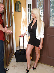 Alexis Ford has hot sex with big cocked guy who is married.