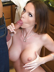 Busty Jennifer Dark gets fucked by her boyfriend