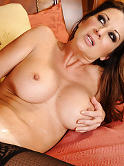 Raquel Devine has hot sex with her big cocked friend of her son.
