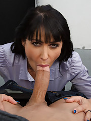 Eva Karera has hot sex with one of her students with a big cock.