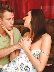 Sadie Holmes has hot sex with her friends husband and his big cock.