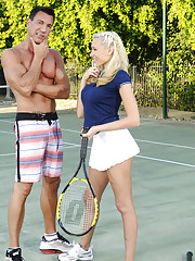 Katie Summers decides to have sex with her tennis instructor.
