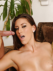 Rilynn Rae is scared of her drunk boyfriend and decides to get fucked by her neighbor instead.