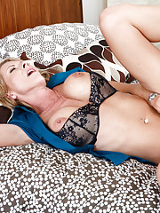 Emma Starr has hot anal sex with her sons friend and loves his big cock in her ass.