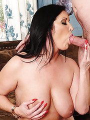 Samy Brooks loves to fuck younger cock and as a cougar she knows how to seduce them.