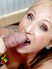 Mature latina loves young cock