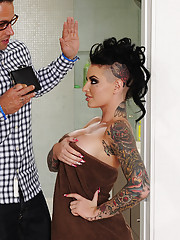 Christy Mack gets fucked by her friends brother and she loves to trick him into playing rough with her.