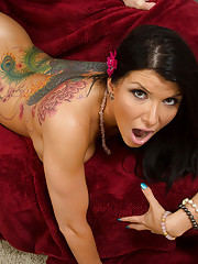 Romi Rain is hot and horny but her boyfriend is gone so she fucks his best friend instead.