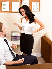 Veronica Avluv is leaving her current employer to start her own company and she would love to bring her favorite employee with her. He's hesitant to join her, but Veronica has a special immediate bonus to help persuade him. It's not necessarily