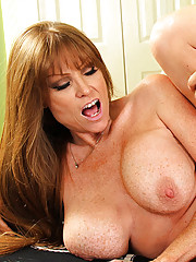 Darla Crane has hot sex with one of her son