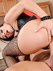 Hot busty Latina Ariella Ferrera is applying for a maid/personal assistant position for Johnny and his wife. Unfortunately, she didn't bring any of her references with her, but she really wants the job. She decides that the best way to get the job is