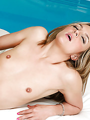 Petite blonde lexi love bounces on a hard cock