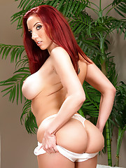 Kelly Divine uses her big ass and tits to fuck her boyfriends son and ride his cock and have hot anal sex.