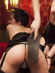 Anal Sluts Roxy Roxx and Ella Nova beg for dick and discipline before getting fucked in the pussy, fucked in the ass and fucked in the face.