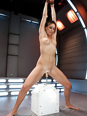 Attack of the hot girl - FM is under siege by the hottest babes on the planet. Watch Rilynn Rae stretch her perfect body out and get fucked by robots.