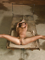 19 year old squirter fucked like a whore in bondage!