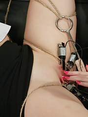 Lorelei is fucked by the electric fuckingmachine